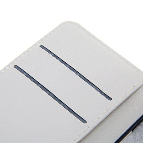 Funda Huawei Enjoy 5S / GR3 / G8 Mini [Happon] Ranuras para Tarjetas y Billetera Carcasa PU Libro de Cuero Flip Leather Cierre Magnético Soporte Plegable para Huawei Enjoy 5S / GR3 / G8 Mini (Ropa) Bolso