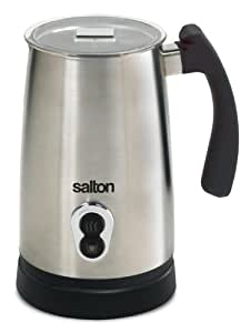 Salton Milk Frother, Stainless Steel