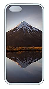 iPhone 5 5S Case Landscapes Snow Mountain TPU Custom iPhone 5 5S Case Cover White