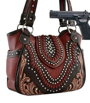 Montana West Shoulder Bag(Concealed Carry Purse) HANDBAG ...