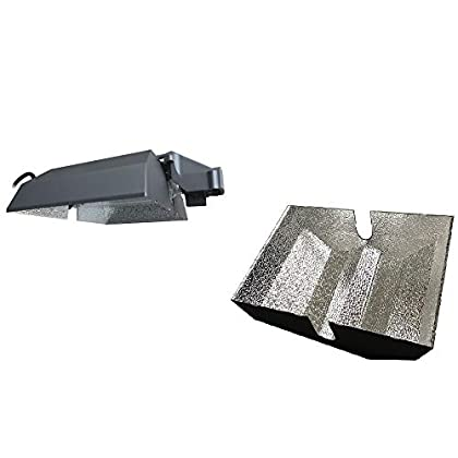 Image of Ballasts SolisTek Double Ended A1 Reflector (Remote) Bundle with Extra Reflective Insert