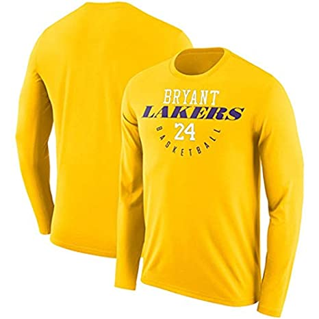 Ldwxxx Lakers James Camiseta de Manga Larga Camiseta de ...