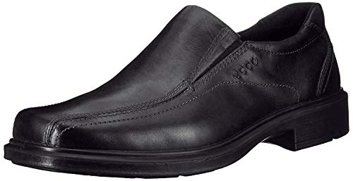 ECCO Men's Helsinki Slip-On,Black,39 EU (US Men's 5-5.5 M)
