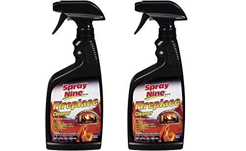 - Spray Nine 15022 Fireplace Cleaner, 22 oz. 2 Pack