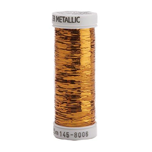 Bronze Metallic Lizard - Sulky Of America 215d 40wt Sliver Metallic Nylon/Polyester Thread, 250 yd, Bronze