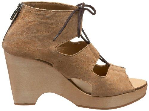 Nara Shoes Womens Micio Clog Lagos Teak Ut0Q1KPS