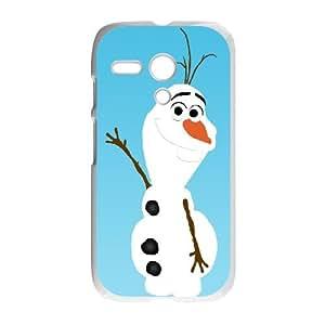 Motorola G Cell Phone Case White Olaf qyoh