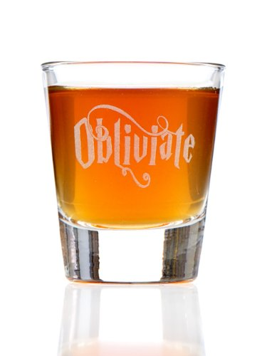 Obliviate Harry Potter Inspired Shot Glass
