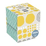 Kleenex Trusted Care Everyday Facial Tissues, Cube Box, 27 Packs