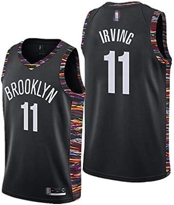 Camiseta de Baloncesto para Hombre, NBA Brooklyn Nets #11 Kyrie ...