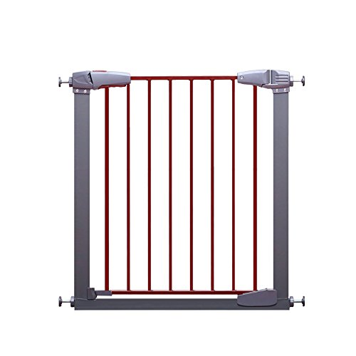 ZR- Bed guardrails, Security Door guardrail Baby Stair Door Railing pet Dog Barrier Fence Bed Guard Toddler Safety (Size : 77-83cm+20cm)