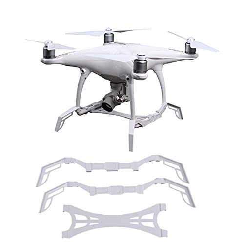 Fstop Labs Heightened Landing Gear Stabilizers Skid + Gimbal Camera Guard Protection Board for DJI Phantom 4 Professional Advanced/Pro