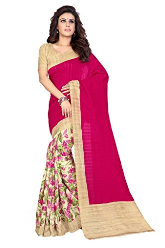 Mirchi Fashion Women's Printed Casual Traditional Indian Saree - Sarees Indian