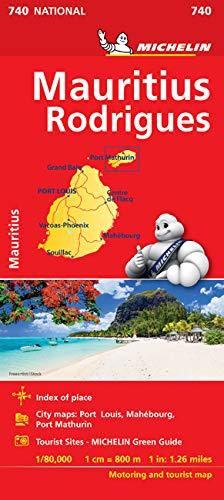 Mapa National Islas Mauricio Mapas National Michelin: Amazon.es ...