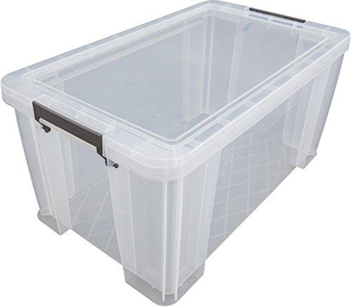Price comparison product image Ezy 53612Allstore Filing Storage Box 54litres 56x 38x 32cm Transparent Polypropylene