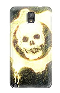 Garrison Kurland's Shop New Premium Case Cover For Galaxy Note 3/ Gears Of War Skull Protective Case Cover
