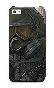 XiFu*MeiTpu Protector Snap HTpuZdF24005VWkRt Case Cover For Iphone 5cXiFu*Mei
