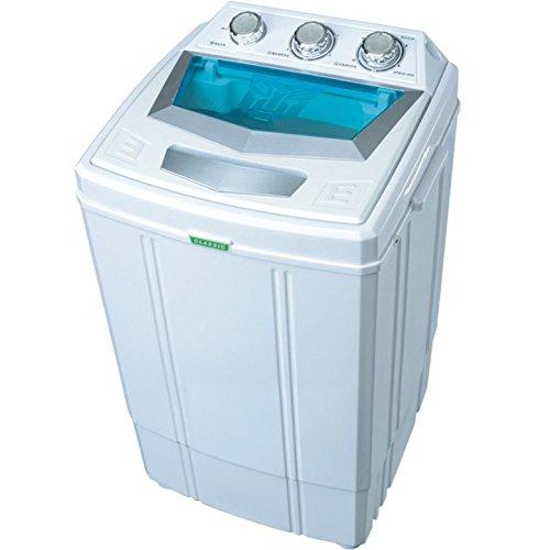 Machine à laver avec essorage Syntrox Germany - Petit format, pour camping - Classe énergétique A - 4kg pour camping - Classe énergétique A - 4kg
