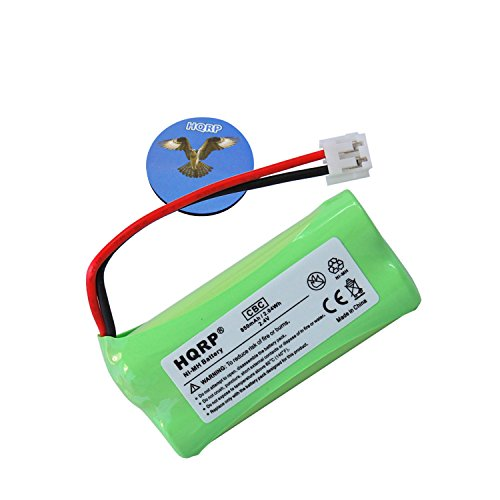 HQRP Phone Battery for V-Tech/VTech is6110 / is 6110, LS6113 / LS 6113, LS6204 / LS 6204, LS6245 / LS 6245 Cordless Telephone plus Coaster