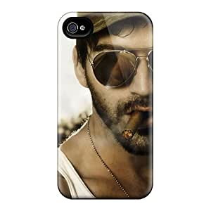 Flexible Tpu Back Case Cover For Iphone 4/4s - Military Man by runtopwell