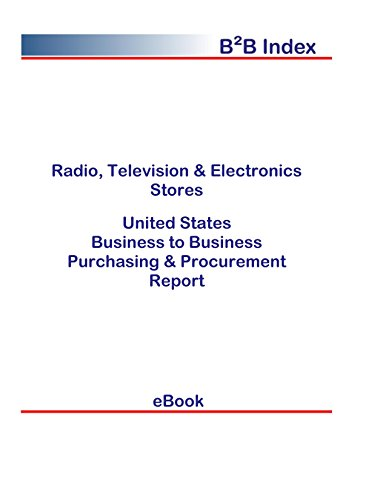 Radio, Television & Electronics Stores B2B United States: B2B Purchasing + Procurement Values in the United States