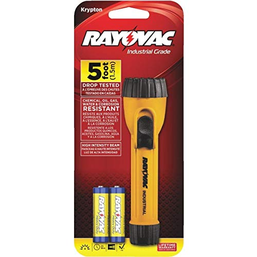 Rayovac Compact Industrial Light - WHK2AA-BA Pack of 5
