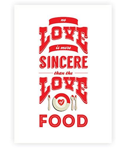 Amazon.com: No Amor es más sincero Que El amor de alimentos ...