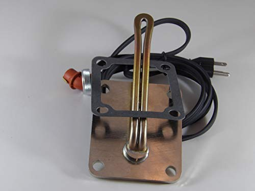 Engine Block Heater compatible with 2000-2010 Kenworth Trucks T800 with Cummins M11 Eng.