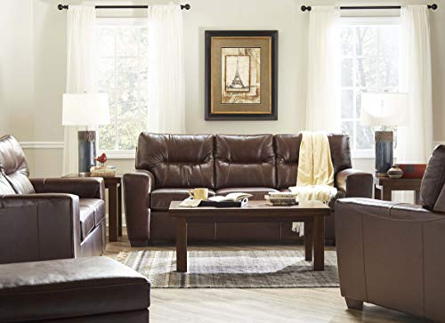 Lane Home Furnishings 2043-04Q Soft Touch Chestnut QUEEN SLEEPER, Brown