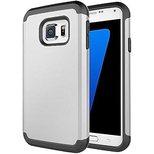 Samsung Galaxy S7 case - D'eJoy Slim Dual Layer Hybrid Armor Protector Case For Samsung Galaxy S7 G930 - Slate Sales