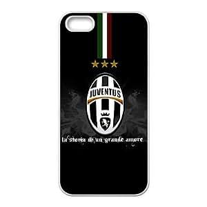 iPhone 5 5s Cell Phone Case White Juventus Football QAO Fashion Phone Case Custom