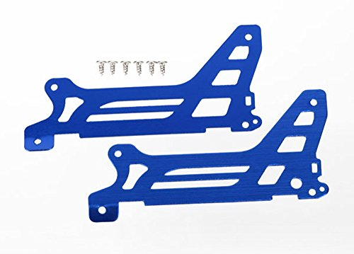 Traxxas 6328 Main Frame/Side Plate/Outer Blue DR-1...