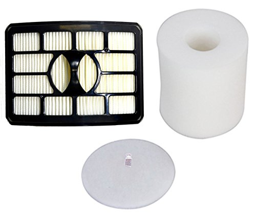 EcoMaid Accessories For Shark Rotator Pro Lift-Away NV500 HEPA Filter & Foam Filter Kit, Fits Shark Rotator Pro Lift-Away NV500, Compare to Part # XHF500 & XFF500