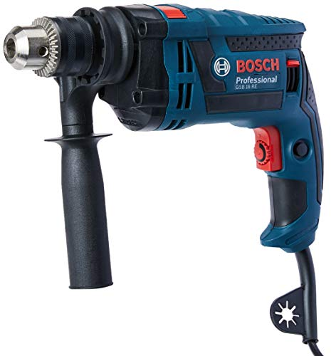 Furadeira de Impacto GSB 16 RE 127V, Bosch 06012281D4-000, Azul
