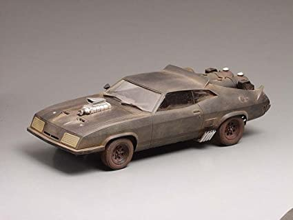 Mad Max The Road Warrior 1:24 Scale Model Kit By Interceptor by Aoshima