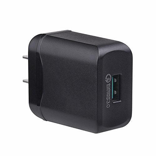Large Product Image of USB Type C Charger, Quick Charge 3.0 Rapid Fast Wall Charger with USB C Cable for LG G5 / G6 / V20 / V30,Samsung Galaxy S8 / S8 Plus / Note 8 / HTC 10 / Nokia 8 and More