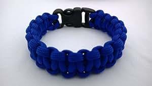 17,78 cm azul eléctrico Paracord 550 Cobra sujetapuntos FamilyMall brazalete/Pulsera. Reino Unido spooff en Norfolk.