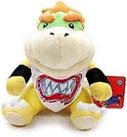 18Cm Super Mario Koopa Plush Doll Brothers Bowser Jr Soft Plush Toys SHULEEOQ