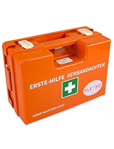 Erste-Hilfe-Koffer für Betriebe mit Inhalt nach DIN 13157 in orange ...