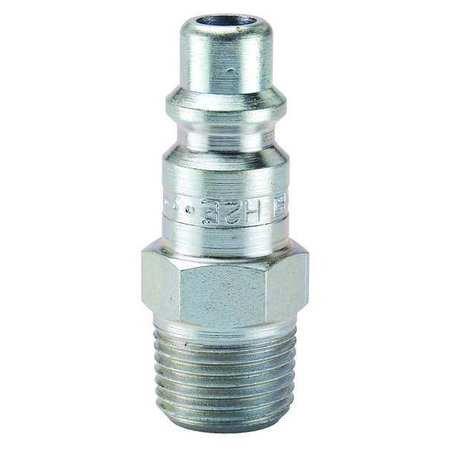 Coupler Plug Steel MNPT 38 In Pipe