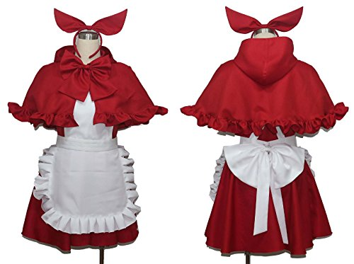 No Brand Women's 1799Little Red Riding-Hood Cosplay (XXXL) (Little Red Riding Hood Cosplay)