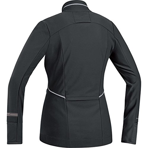 Gore Running Wear Air Lady Windstopper Soft Shell - Camiseta de manga larga para mujer negro