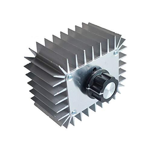 高出力電子電圧レギュレータ5000W 220VレギュレータSCR調光サーモスタットレギュレータ