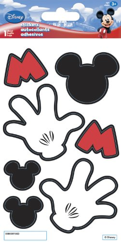 Mickey Mouse Licensed Dimensional Hands (Sandylion Mickey Mouse)