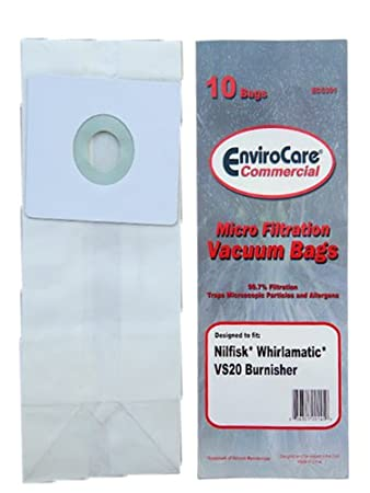 Amazon.com: 10 Advance Nilfisk Whirlamatic VS20 widepath ...
