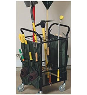 Charmant JJ International Garden Tool Caddy With Casters