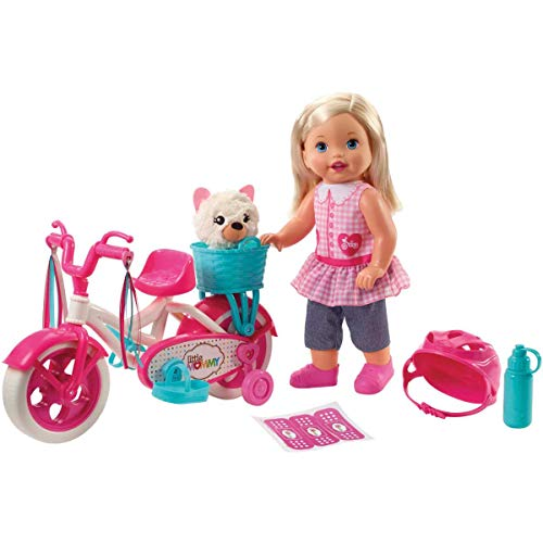 (Little Mommy Learn to Ride Doll)