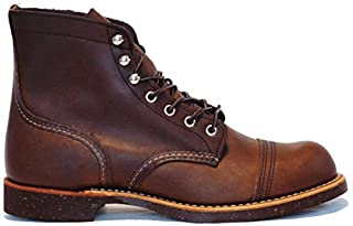 Red Wing Mens Iron Ranger 8111 Brown Leather Boots 8 US (B077FTQ9VV) | Amazon price tracker / tracking, Amazon price history charts, Amazon price watches, Amazon price drop alerts