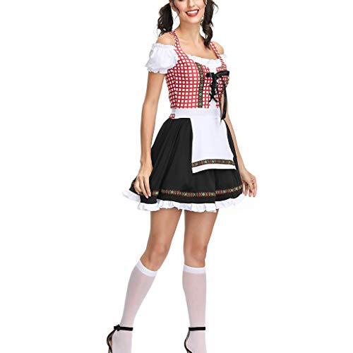 Tavern Maid Dress,Women's Beer Festival Dress Carnival Bavarian Oktoberfest Cosplay Costumes,Girls' Fashion
