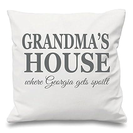Casa de la abuela donde nietos son Spoilt personalizado ...